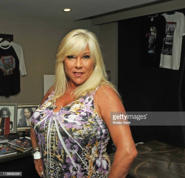 Samantha Fox attends the Chiller Theatre Expo Spring 2019 at Parsippany Hilton on April 26, 2019 in Parsippany, New Jersey.