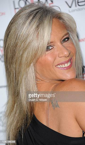 Samantha Fox attends the London Lifestyle Awards 2011 at Park Plaza Riverbank Hotel on October 6 2011 in London England