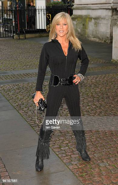 Samantha Fox attends the Woman's Own Children Of Courage Awards at Westminster Abbey on December 9, 2009 in London, England.