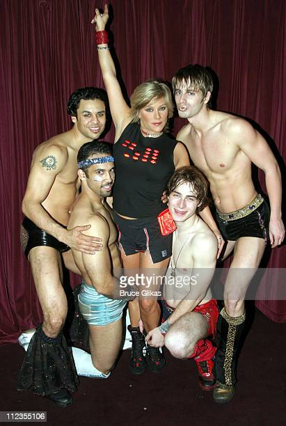 "Samantha Fox during British Pop Star Samantha Fox guest stars in ""The Donkey Show"" - New York at El Flamingo Club in New York City, New York, United..."