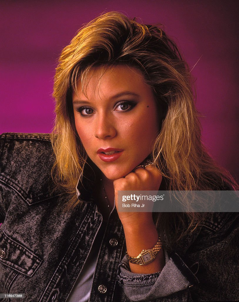 Samantha Fox during Singer Samantha Fox 1987 Photo Session at Private Location in Los Angeles, California, United States.