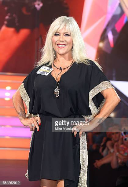 Samantha Fox enters the Celebrity Big Brother House at Elstree Studios on July 28 2016 in Borehamwood England