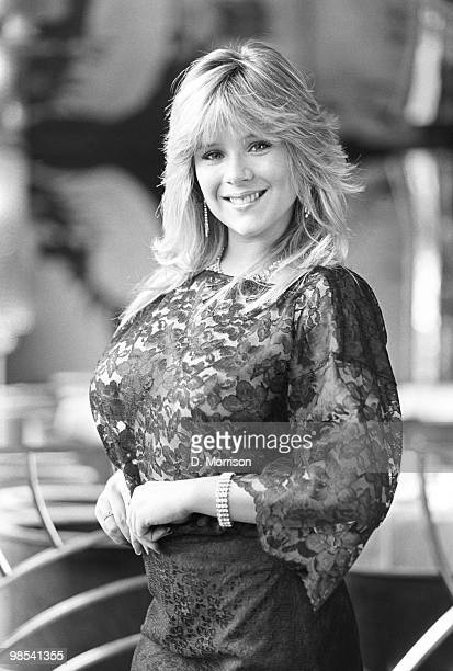 Samantha Fox glamour model and pop star 13th November 1984