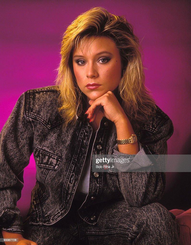 Singer Samantha Fox 1987 Photo Session