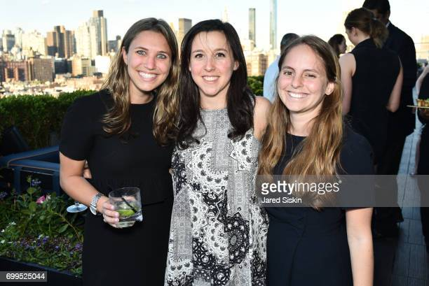 Samantha Frankel Katie Gross and Dana Holzberg attend The Junior Board of The TEAK Fellowship Presents A Midsummer Night at PhD Lounge at the Dream...