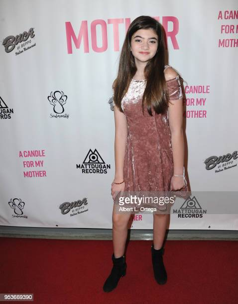 Samantha Gangal arrives for a luncheon in honor of Mother's Day for the release of Pamela L Newton's 'A Candle For My Mother' held at Los Angeles...