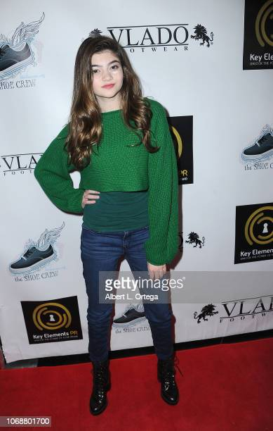 Samantha Gangal arrives for Hunter Payton And The Shoe Crew Holiday Charity Fundraiser Screening of Illumination's 'The Grinch' Benefiting The...