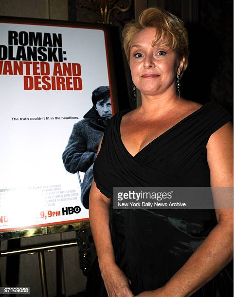 Samantha Geimer at the after party held at the Plaza Hotel Grand Ballroom for the ' Roman PolanskiWanted And Desired ' HBO Documentary New York...