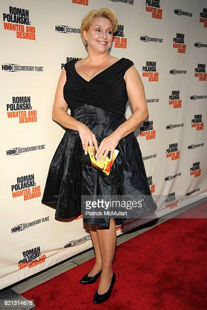 Samantha Geimer attends HBO Documentary Films' New York Premiere of 'ROMAN POLANSKI Wanted and Desired' at The Paris Theater on May 6 2008 in New...
