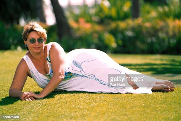 KILAUEA Samantha Geimer the woman who was sexually assaulted by director Roman Polanski at age 13 photographed on March 10 1997 in Kilauea Kauai...
