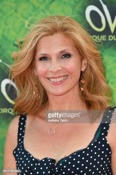Samantha Giles attends the Cirque Du Soleil's OVO Premiere at The Liverpool Echo Arena on August 16 2018 in Liverpool England