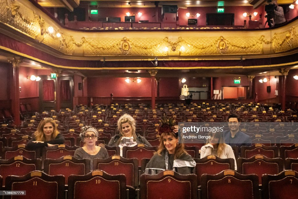 """The Ceremony"" At Leeds City Varieties Music Hall - Rehearsals : News Photo"