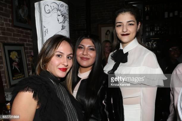 Samantha Giunta Ivana Lopez Mariana Mahoney attend 25A and Metropolitan Magazine Cover Stars Dr Christopher Calapai Dale Noelle Leesa Rowland Jane...
