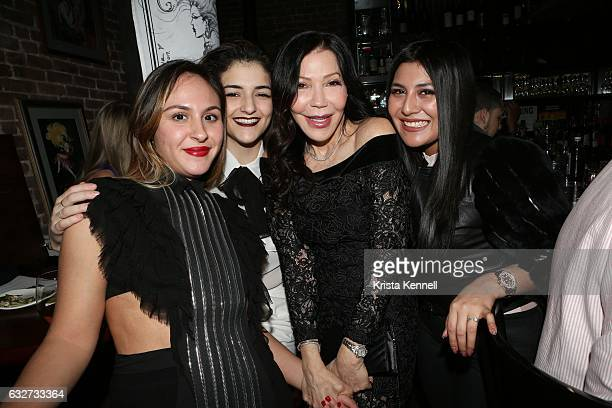 Samantha Giunta Mariana Mahoney Jane Scher and Ivana Lopez attend 25A and Metropolitan Magazine Cover Stars Dr Christopher Calapai Dale Noelle Leesa...