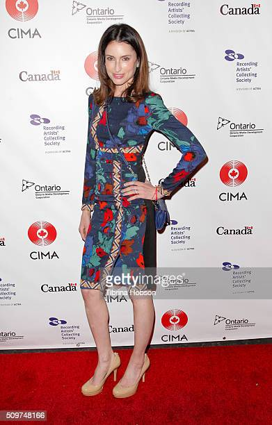Samantha Gutstadt attends Canada's Grammy Night at Raleigh Studios on February 11 2016 in Los Angeles California