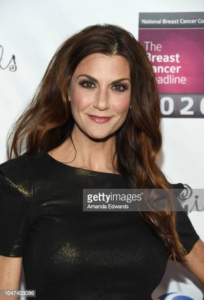 Samantha Harris arrives at The National Breast Cancer Coalition's 18th Annual Les Girls Cabaret at Avalon Hollywood on October 7 2018 in Los Angeles...