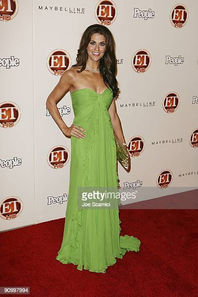 Samantha Harris arrives at Vibiana for the 13th Annual Entertainment Tonight and People magazine Emmys After Party on September 20, 2009 in Los...