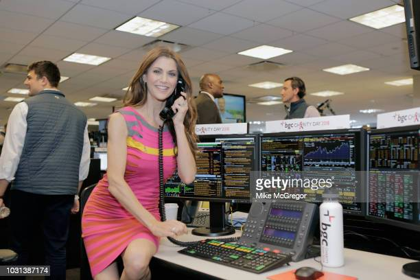 Samantha Harris attends Annual Charity Day hosted by Cantor Fitzgerald BGC and GFI at BGC Partners INC on September 11 2018 in New York City