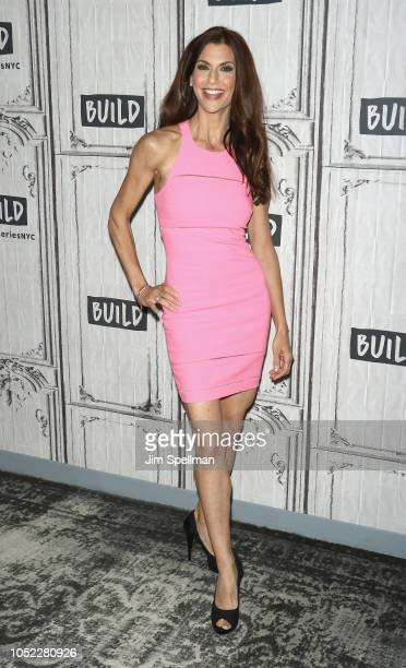Samantha Harris attends the Build Brunch at Build Studio on October 16 2018 in New York City