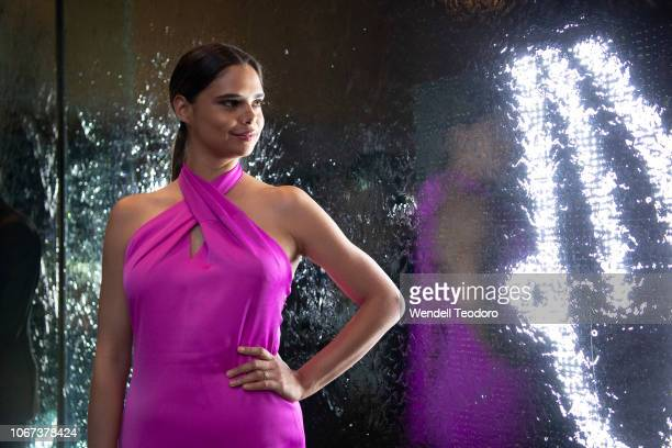 Samantha Harris attends the NGV Gala 2018 at National Gallery of Victoria on December 1 2018 in Melbourne Australia
