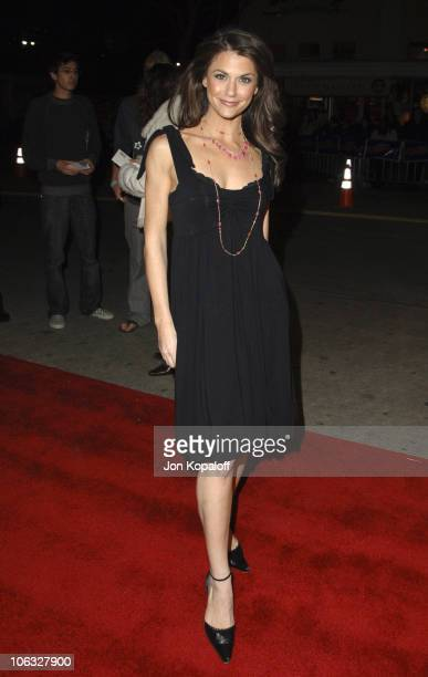 """Samantha Harris during DreamWorks' """"She's the Man"""" Los Angeles Premiere - Red Carpet at Mann's Village in Westwood, California, United States."""