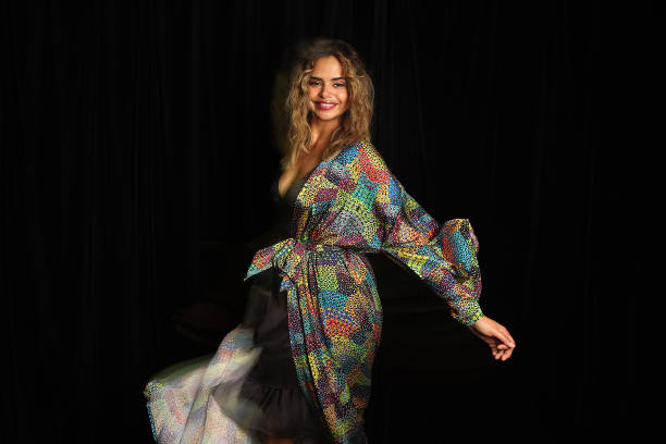 AUS: Indigenous Fashion Projects - Backstage - Afterpay Australian Fashion Week 2021