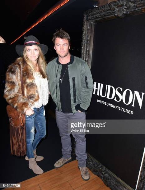 Samantha Hemsworth and Luke Hemsworth attend a private event hosted by Hudson at Hyde Staples Center for a Red Hot Chili Peppers concert on March 7,...