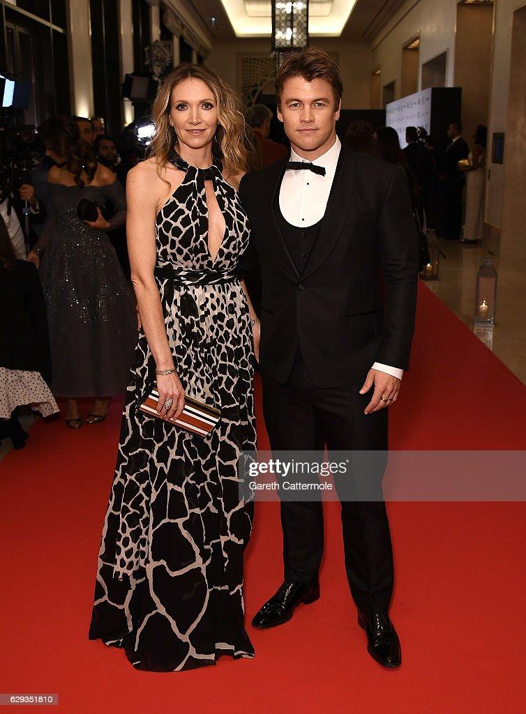 cdd6b9e0e66 Samantha Hemsworth and Luke Hemsworth attend the Global Gift Gala ...