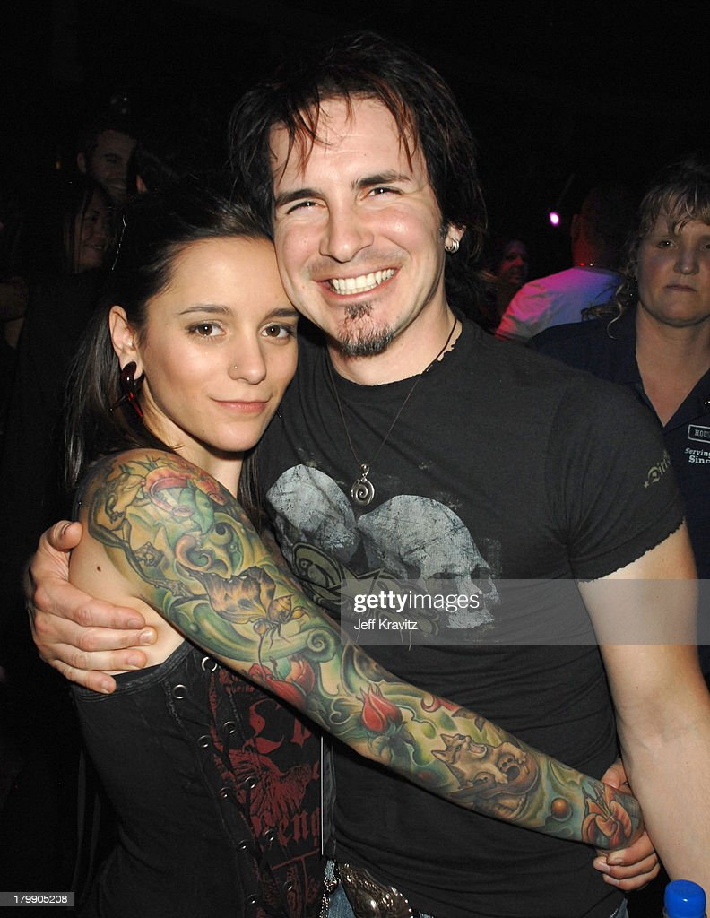 Samantha Humphreys and Hal Sparks during 2007 VH1 Rock Honors - After Party Benefiting VH1 Save The Music Foundation at Mandalay Bay in Las Vegas, Nevada, United States.