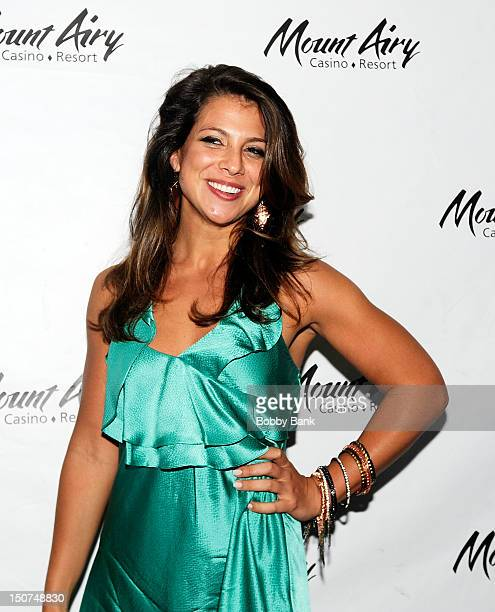 Samantha Ivers attends Goat The Movie sneak peek at Mount Airy Casino Resort on August 25 2012 in Mount Pocono Pennsylvania