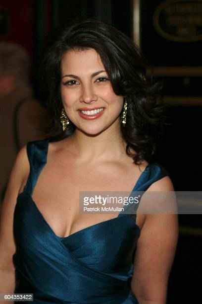 Samantha Ivers attends The World Premier of Inside Man at Ziegfeld Theatre on March 20 2006 in New York City