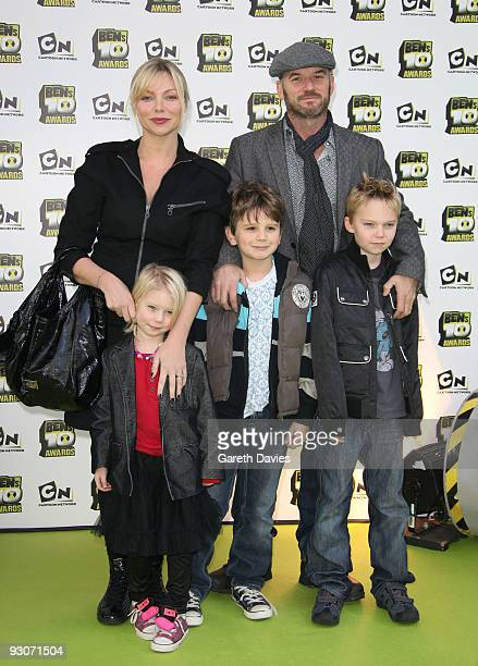 Samantha Janus and Family the Ben's 10 Awards at the Unicorn Theatre on November 15 2009 in London England The awards announce 10 winners to join a...
