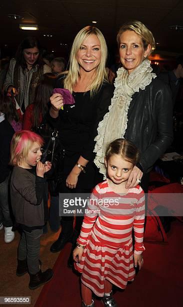 Samantha Janus and Ulrika Johansson attend Hamleys' 250th Birthday Party at Hamleys on February 11 2010 in London England