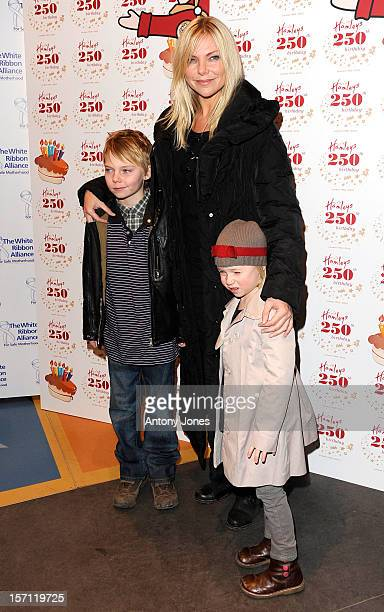 Samantha Janus Arrives At The Hamleys 250Th Birthday Party At The Toy Store In Central London