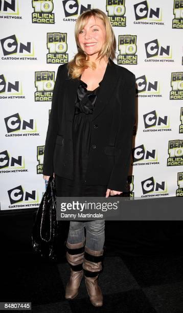 Samantha Janus attends the Ben 10 Alien Force VIP Premiere at Old Billingsgate Market on February 15 2009 in London England