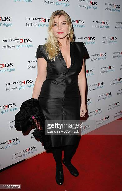 Samantha Janus attends the launch of 'Nintendo 3DS' at Old Billingsgate Market on March 24 2011 in London England
