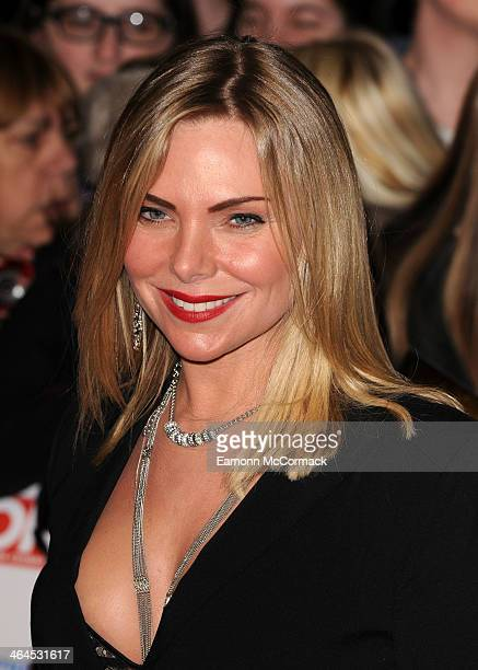 Samantha Janus attends the National Television Awards at 02 Arena on January 22 2014 in London England