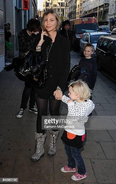 Samantha Janus attends the VIP Screening of 'Bolt' at Cineworld Haymarket on February 1 2009 in London England