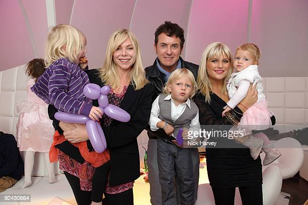 Samantha Janus Shane Richie Christie Goddard Lolita and Mockenzie attends the VIP Launch of 'Disney On Ice Presents Princess Wishes' on October 28...