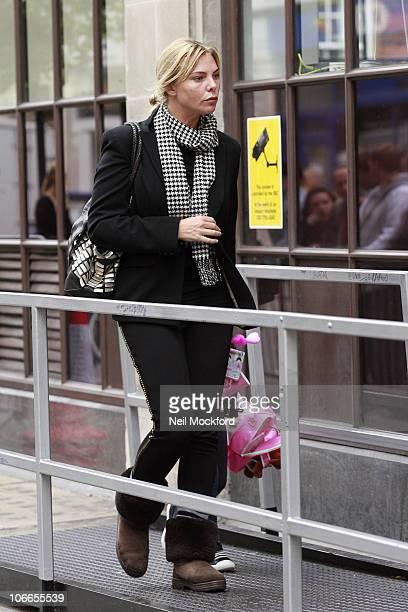 Samantha Janus sighting on September 16 2010 in London England