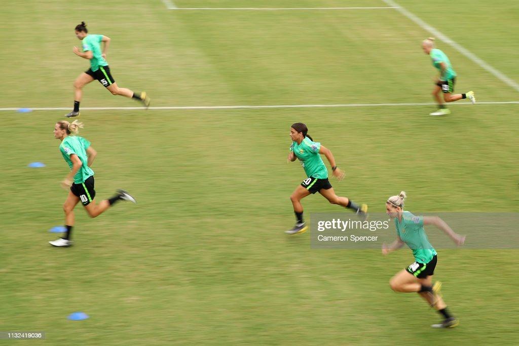 Australian Matildas Training Session : News Photo