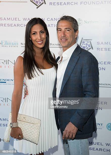 Samantha Leder and Marc J. Leder attend the Samuel Waxman Cancer Research Foundation 11th Annual A Hamptons Happening on July 11, 2015 in...