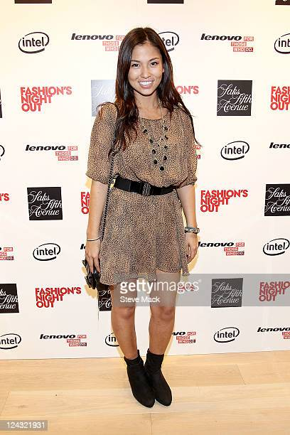 Samantha Lim at Saks Fifth Avenue on September 8 2011 in New York City