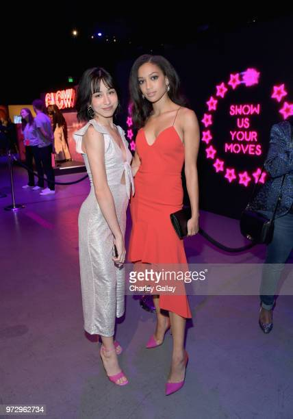 Samantha Logan attends Strong Black Lead party during Netflix FYSEE at Raleigh Studios on June 12 2018 in Los Angeles California