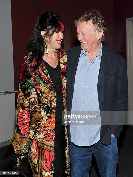 Samantha Lyne and director Adrian Lyne attend the 30th Anniversary Screening of Flashdance at the Aero Theatre on September 21 2013 in Santa Monica...