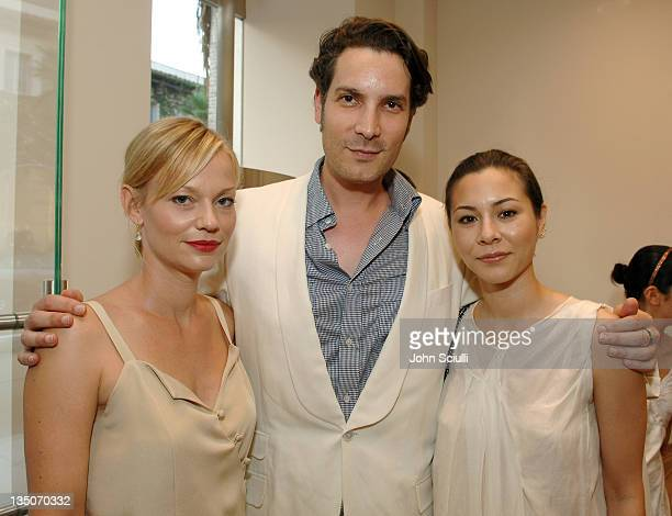 Samantha Mathis Cameron Silver and China Chow during Martin Katz Hosts A Summer Soiree to Honor C Magazine's August Issue at Martin Katz Boutique in...