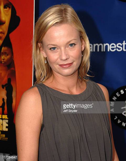 Samantha Mathis during 2006 Amnesty International Film Festival Catch a Fire Premiere at National Geographic Society in Washington DC