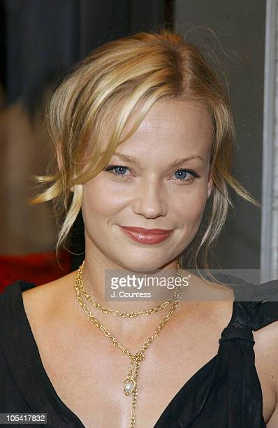 Samantha Mathis during After The Fall Opening Night Arrivals at American Airlines Theatre in New York City New York United States
