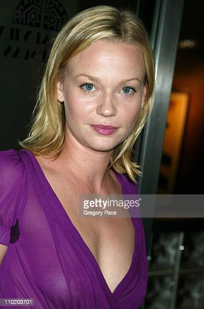 Samantha Mathis during Garden State New York Premiere Inside Arrivals at Chelsea Clearview Cinemas in New York City New York United States