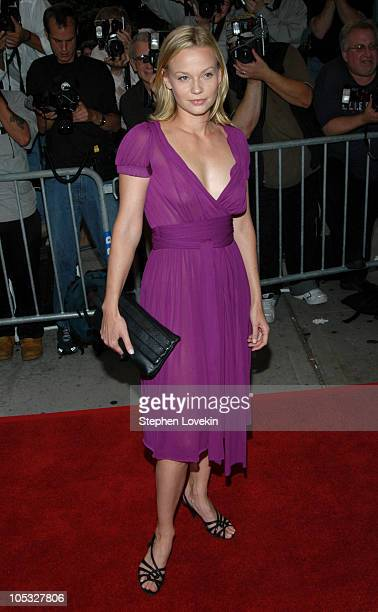 """Samantha Mathis during """"Garden State"""" New York Premiere - Outside Arrivals at Chelsea Clearview Cinemas in New York City, New York, United States."""